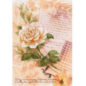 Письма о любви. Роза Набор для вышивания Риолис