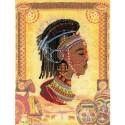 Африканская принцесса Набор для вышивания Риолис