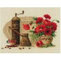 Кофе Набор для вышивания Риолис