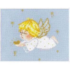 Ангелочек с сердцем Набор для вышивания Риолис