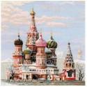 Москва. Собор Василия Блаженного Набор для вышивания Риолис