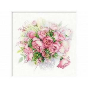 Акварельные розы Набор для вышивания Риолис