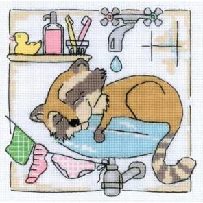 Ванная комната Набор для вышивания Риолис
