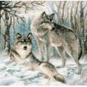 Волчья пара Набор для вышивания Риолис