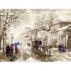 Старая улочка Набор для вышивания Риолис