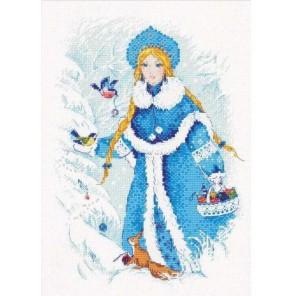 Снегурочка Набор для вышивания Риолис