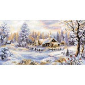 Зимний вечер Набор для вышивания Риолис