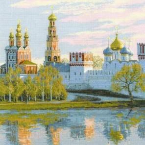 Москва. Новодевичий монастырь Набор для вышивания Риолис
