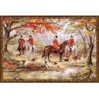 Охота на лис Набор для вышивания Риолис