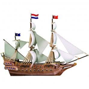 Испанский корабль 3D Пазлы Zilipoo