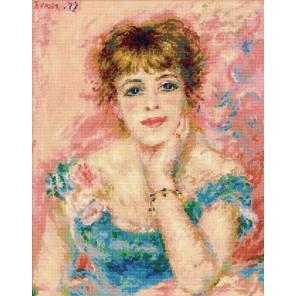 Портрет Жанны Самари Набор для вышивания Риолис