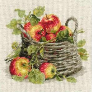 Спелые яблоки Набор для вышивания Риолис