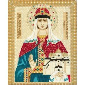 Святая Анна Новгородская Набор для вышивания Риолис