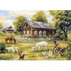 Деревенский полдень Набор для вышивания Риолис