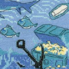 Пиратский корабль Набор для вышивания Риолис