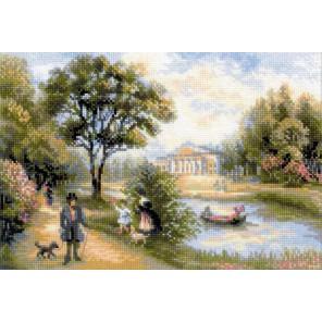 Прогулка в парке Набор для вышивания Риолис