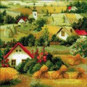 Сербский пейзаж Набор для вышивания Риолис
