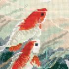Танцующие рыбки Набор для вышивания Риолис