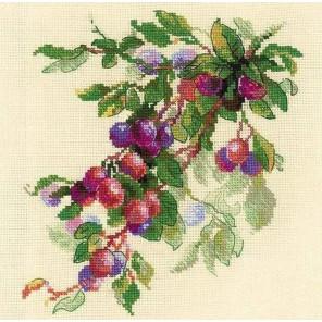 Ветка сливы Набор для вышивания Риолис
