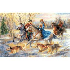 Русская охота Набор для вышивания Риолис