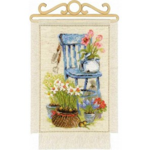 Дача. Весна Набор для вышивания Риолис