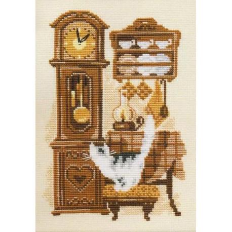 Часы Набор для вышивания Риолис