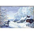 Русская зима Набор для вышивания Риолис