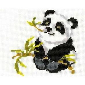 Панда Набор для вышивания Риолис