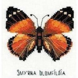 Бабочка нимфалида Набор для вышивания Риолис