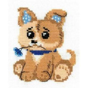 Игрушечный щенок Набор для вышивания Риолис