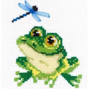 Лягушонок Набор для вышивания Риолис