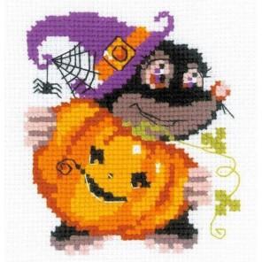 Happy Halloween Набор для вышивания Риолис