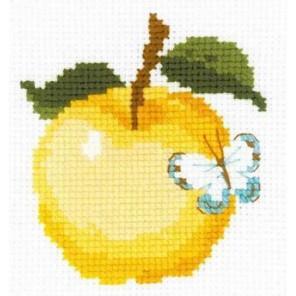 Яблоко Набор для вышивания Риолис