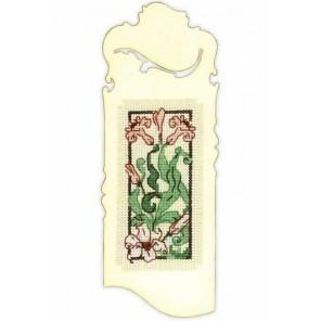 Закладка. Изящная лилия Набор для вышивания Риолис