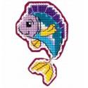 Магнит. Рыбка Набор для вышивания Риолис