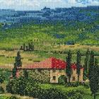 Тоскана Набор для вышивания Риолис