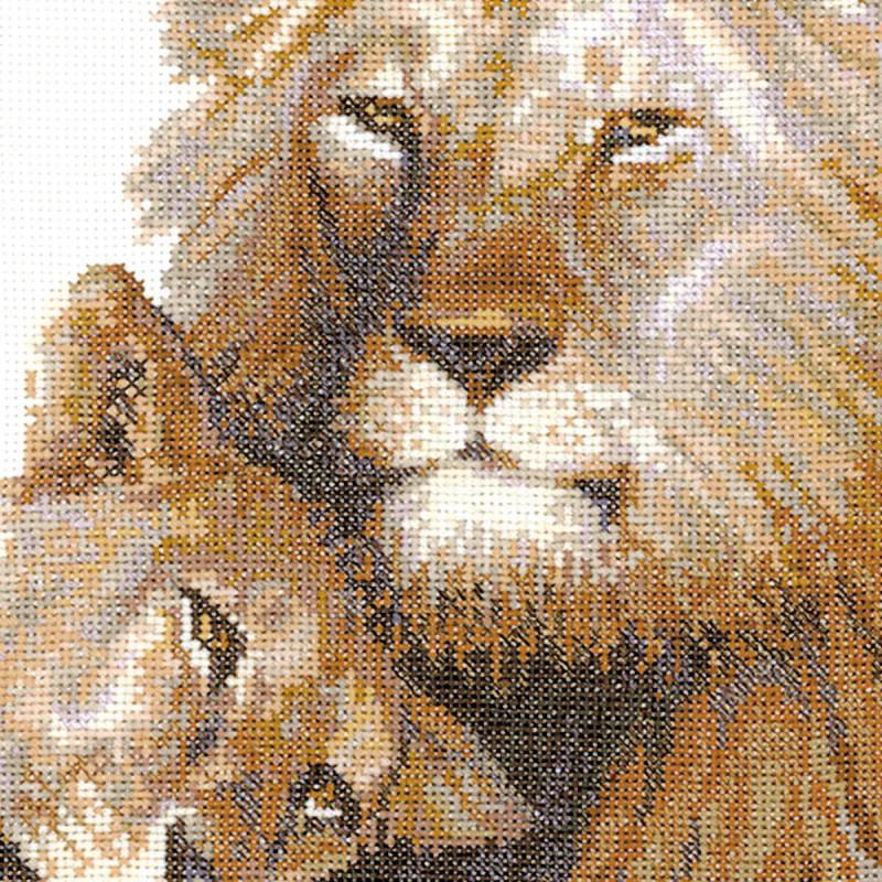 Картинки вышивок львов