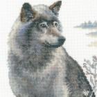 Волки Набор для вышивания Риолис