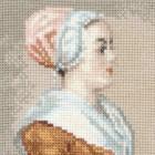 Шоколадница по мотивам картины Жана Этьена Лиотара Набор для вышивания Риолис