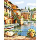 Прекрасная Венеция Раскраска картина по номерам акриловыми красками на холсте