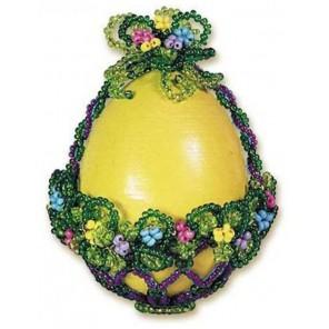 Яйцо корзинка Набор для бисероплетения Риолис
