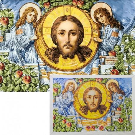 Яблочный спас Алмазная вышивка мозаика Гранни