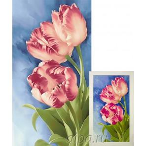 Весенние цветы Алмазная вышивка мозаика Гранни