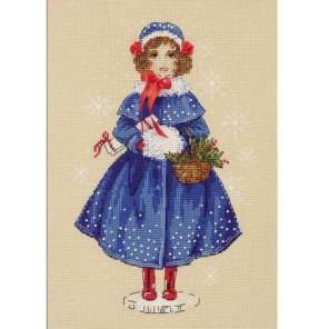 Кукла Мари Набор для вышивания Риолис