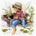 Ловись рыбка Набор для вышивания Риолис