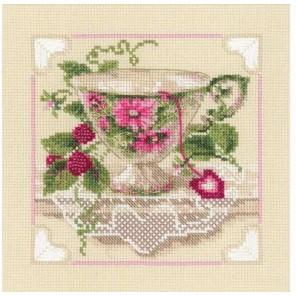 Малиновый чай Набор для вышивания Риолис