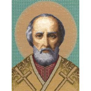 Икона Святой Николай Чудотворец Набор для вышивания Золотое Руно