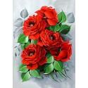 Изысканные розы Алмазная вышивка мозаика Гранни
