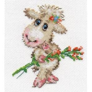 Милая овечка Набор для вышивания Алиса