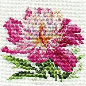 Розовый пион Набор для вышивания Алиса